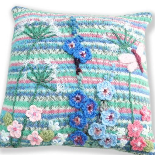Luxury Knitted Cushion