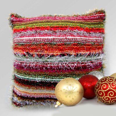 Luxury Christmas Accent Cushion